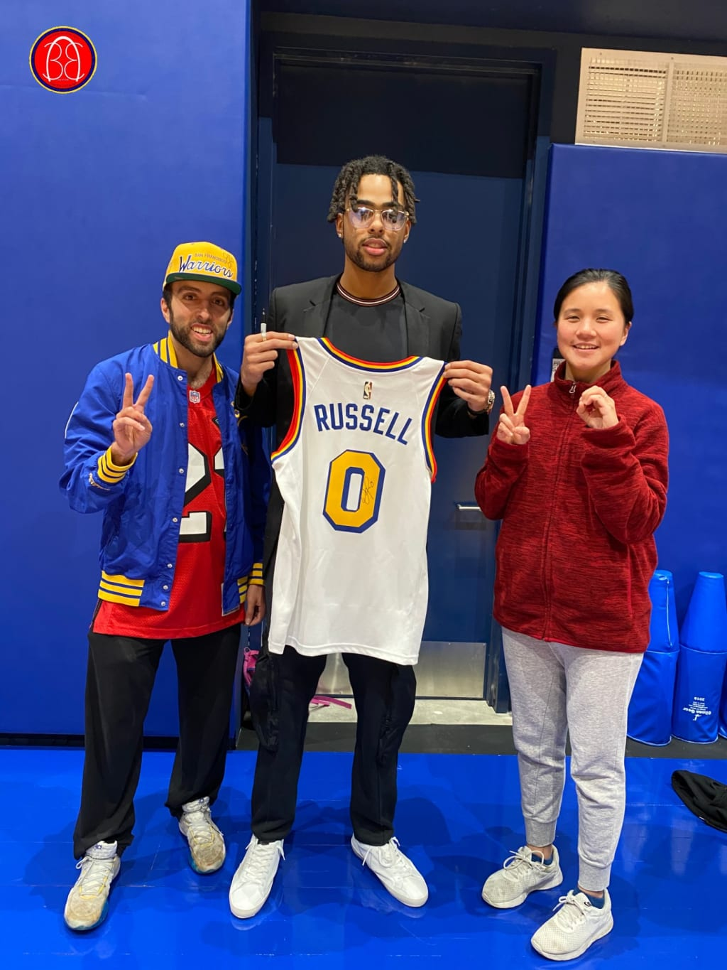 Meeting D'Angelo Russell