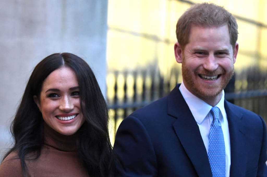 Prince Harry and Meghan Markle Are 'Stepping Back As Senior Members of the Royal Family'