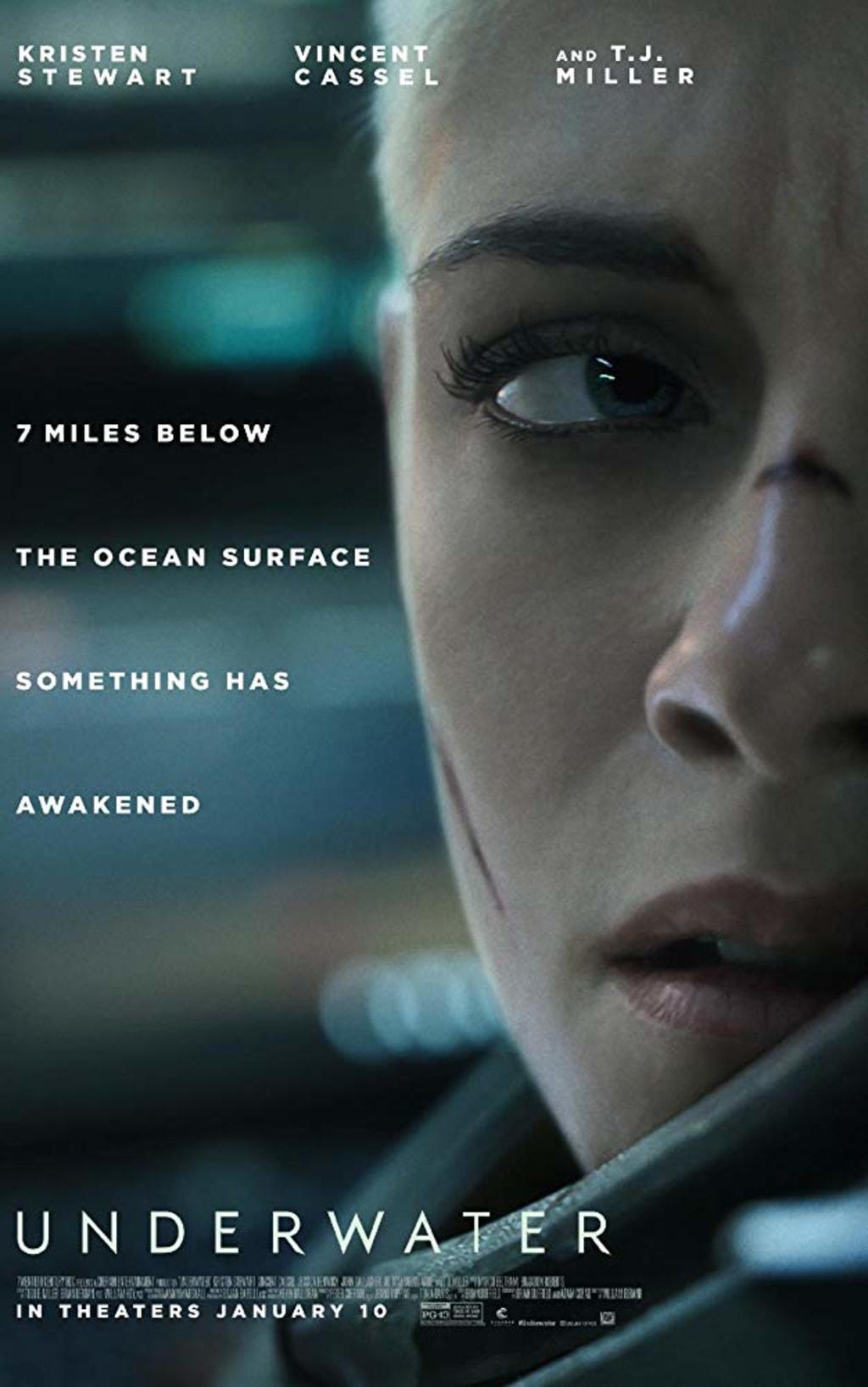 Reed Alexanders's Horror Review of 'Underwater' (2020)