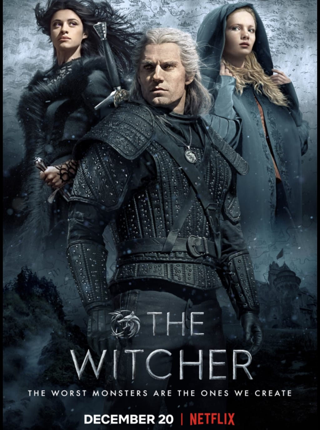 """10 Easter eggs you may have missed in Netflix's """"The Witcher""""."""