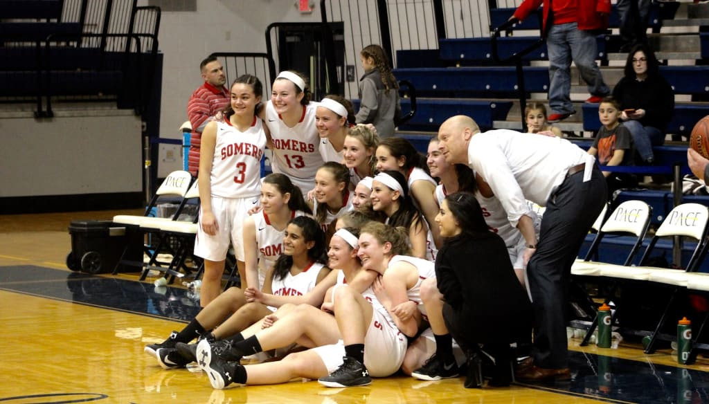 Somers Defeats Vestal 45-39 and Heads to Final Four