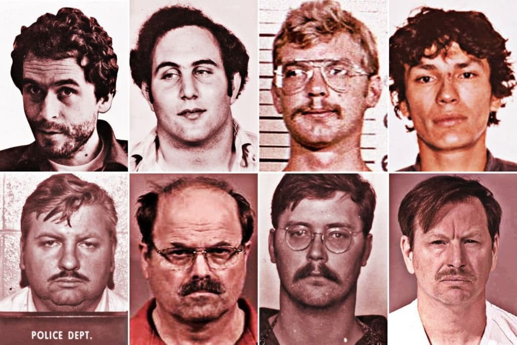 25 Creepy Facts about Well-known Serial Killers!