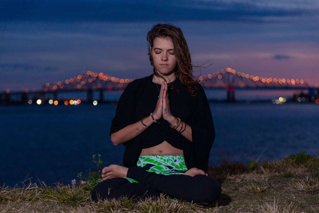 A Beginner's Dive into Yoga + Meditation