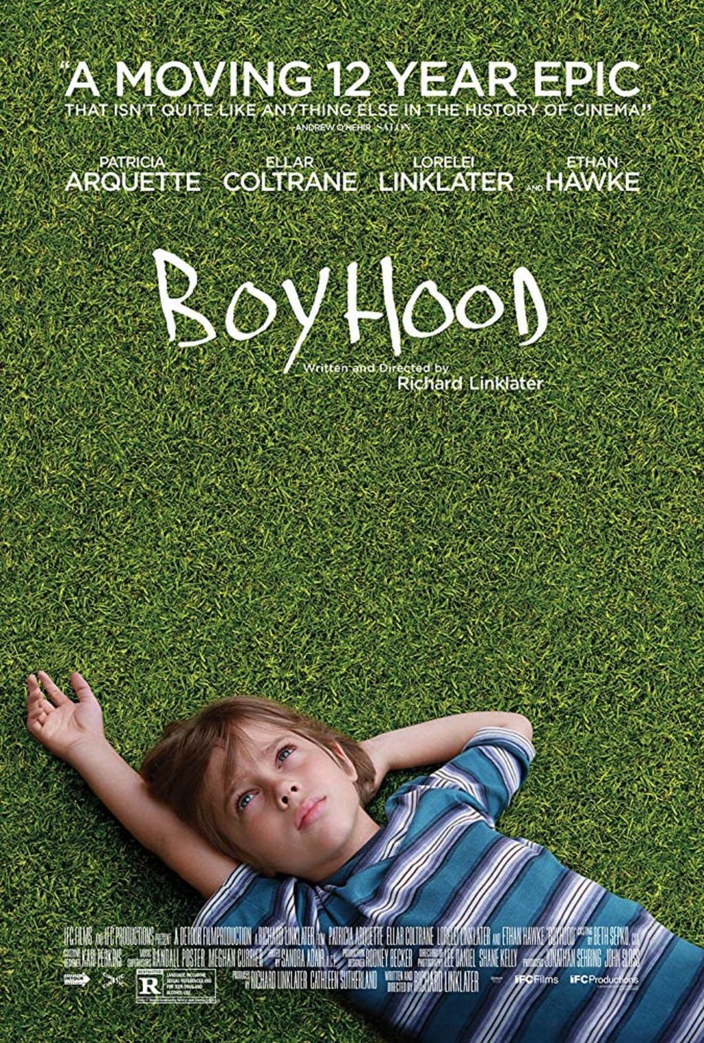 Richard Linklater's Boyhood is such a Drag