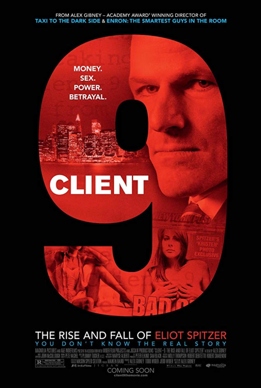 Oscar Winning Filmmaker Unravels Eliot Spitzer Scandal in New Documentary