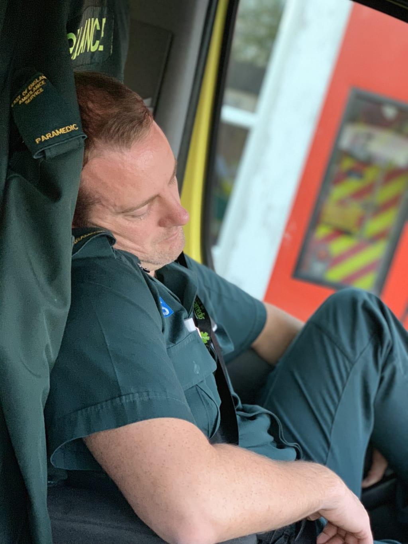 The Sleeping Paramedic