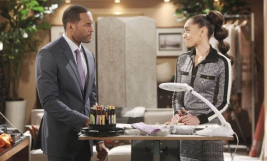 "On ""The Bold and the Beautiful"" Carter may comfort Zoe when Thomas casts her aside"