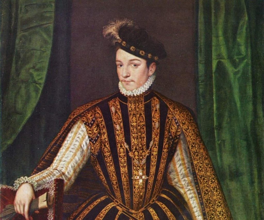 The possibly bizarre death of King Charles IX