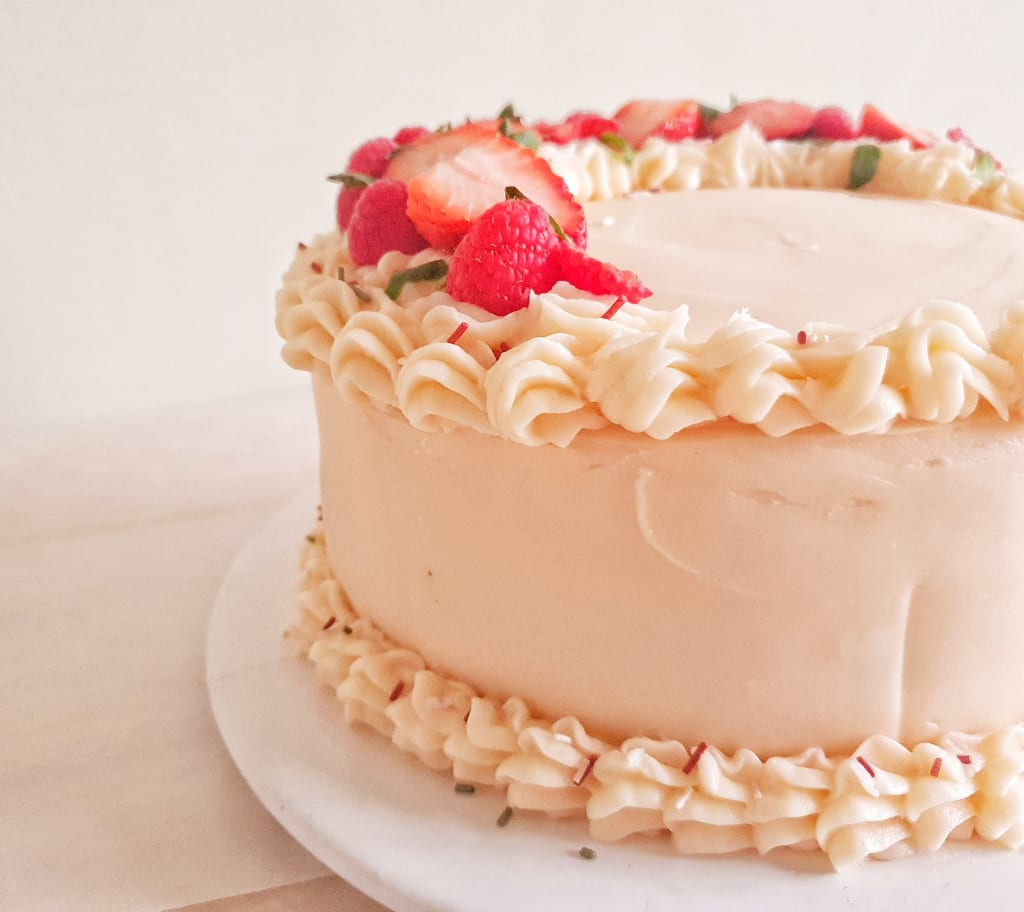The Ultimate Gluten-Free Strawberry Cake