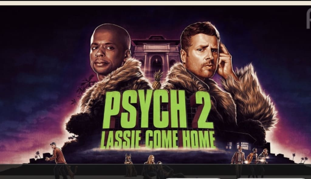 'Psych 2 Lassie Come Home' will be available on Peacock streaming service in July 2020