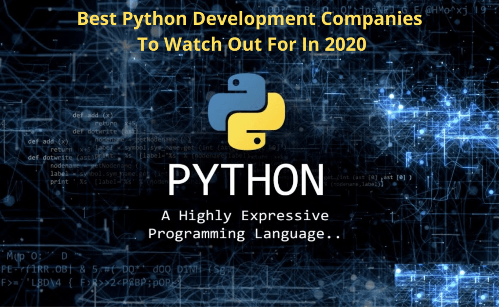 Best Python Development Companies to Watch Out for in 2020
