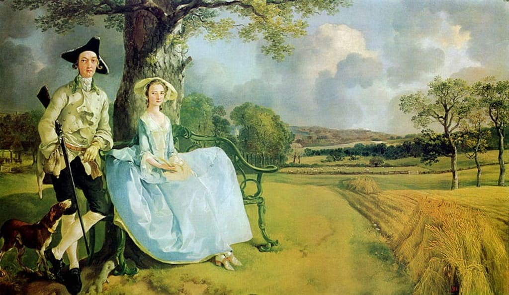Mr and Mrs Robert Andrews, by Thomas Gainsborough