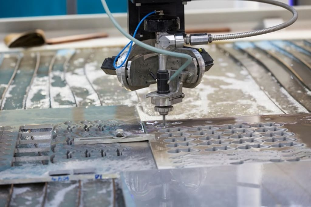 6 Benefits of Using Water Jet Cutting
