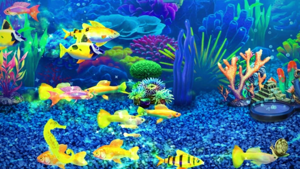 All 7 Magic Fish in Fish Tycoon 2