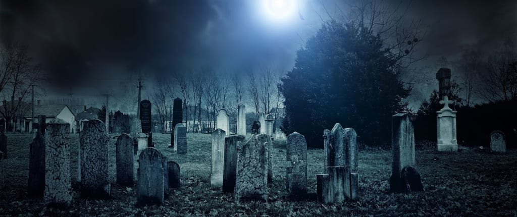 The hunt in the graveyard... my first official investigation with my gang