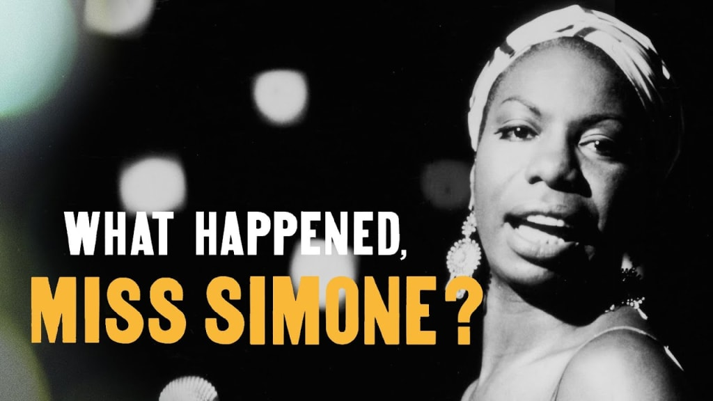 "A Filmmaker's Review: ""What Happened Miss Simone?"" (2015)"