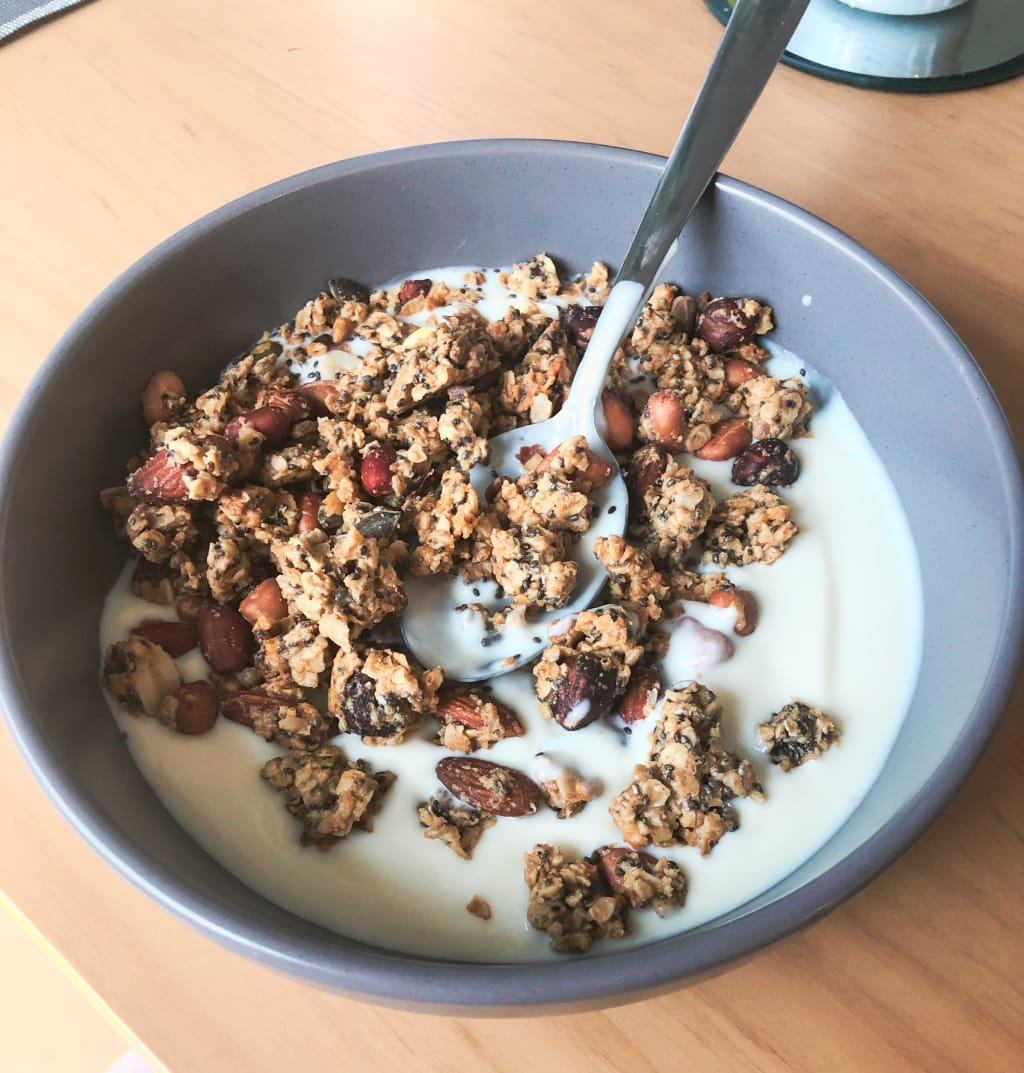 The EASIEST Peanut Butter Granola Recipe - And How to Make it Cheap