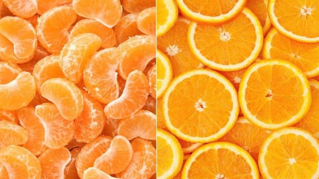 "Why do they call tangerines ""small oranges"" instead?"