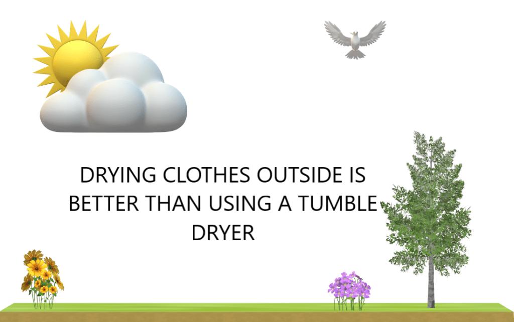 Drying Washing Outside