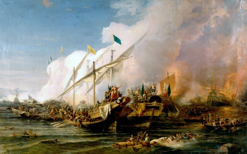 The Battle of Preveza