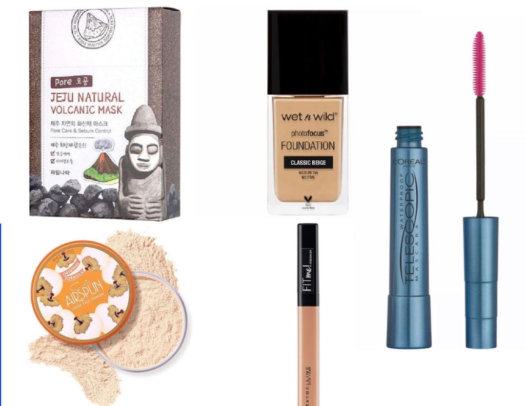 Roundup: The best drug store priced products for an every day face