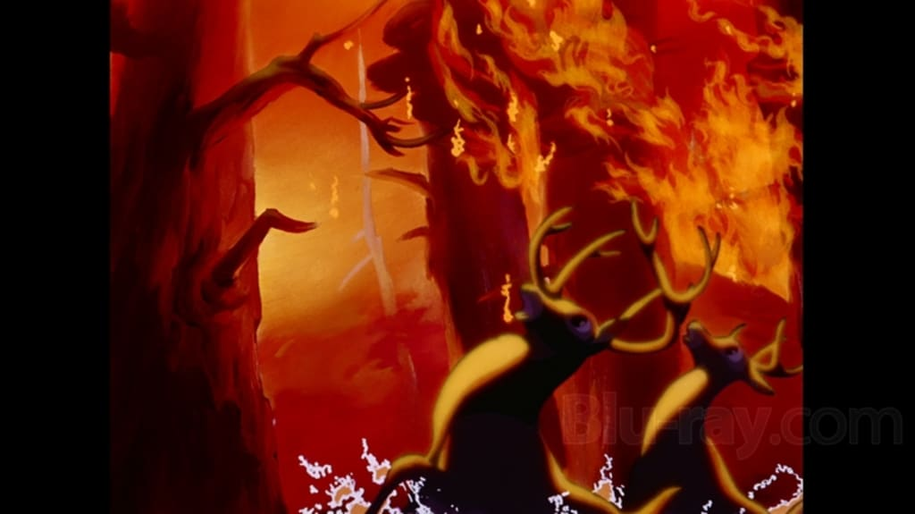 Scary Disney: Bambi: Death, The Enemy, Dogs and the Fire