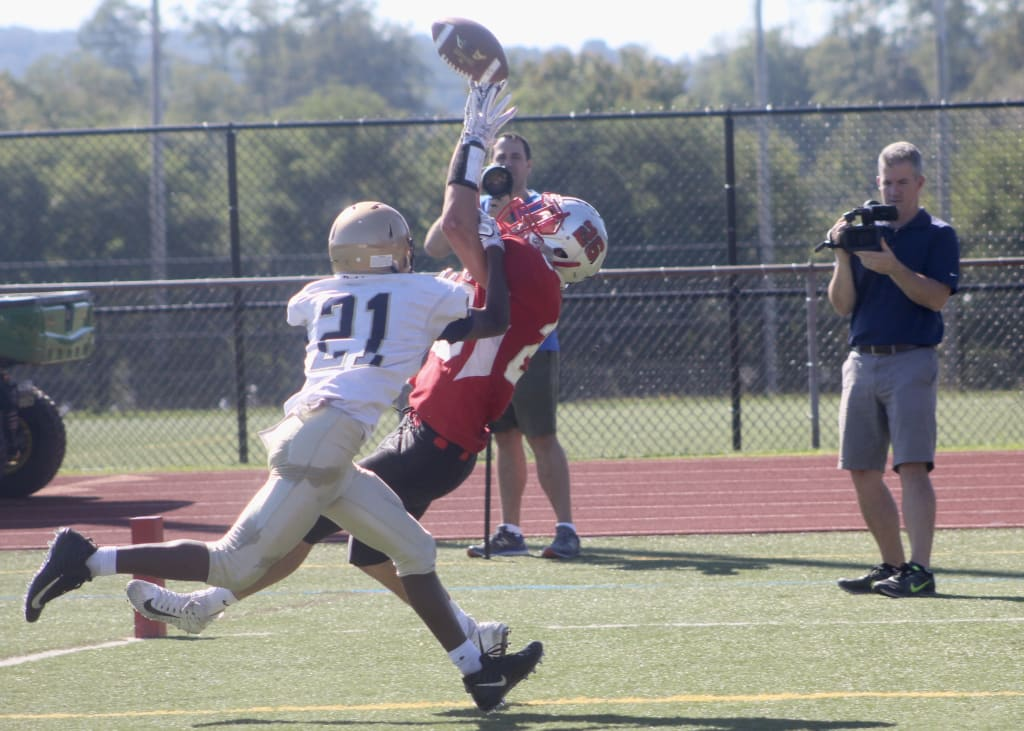 Somers Doesn't Let Fog Derail their Season with 28-14 Victory Over Lourdes