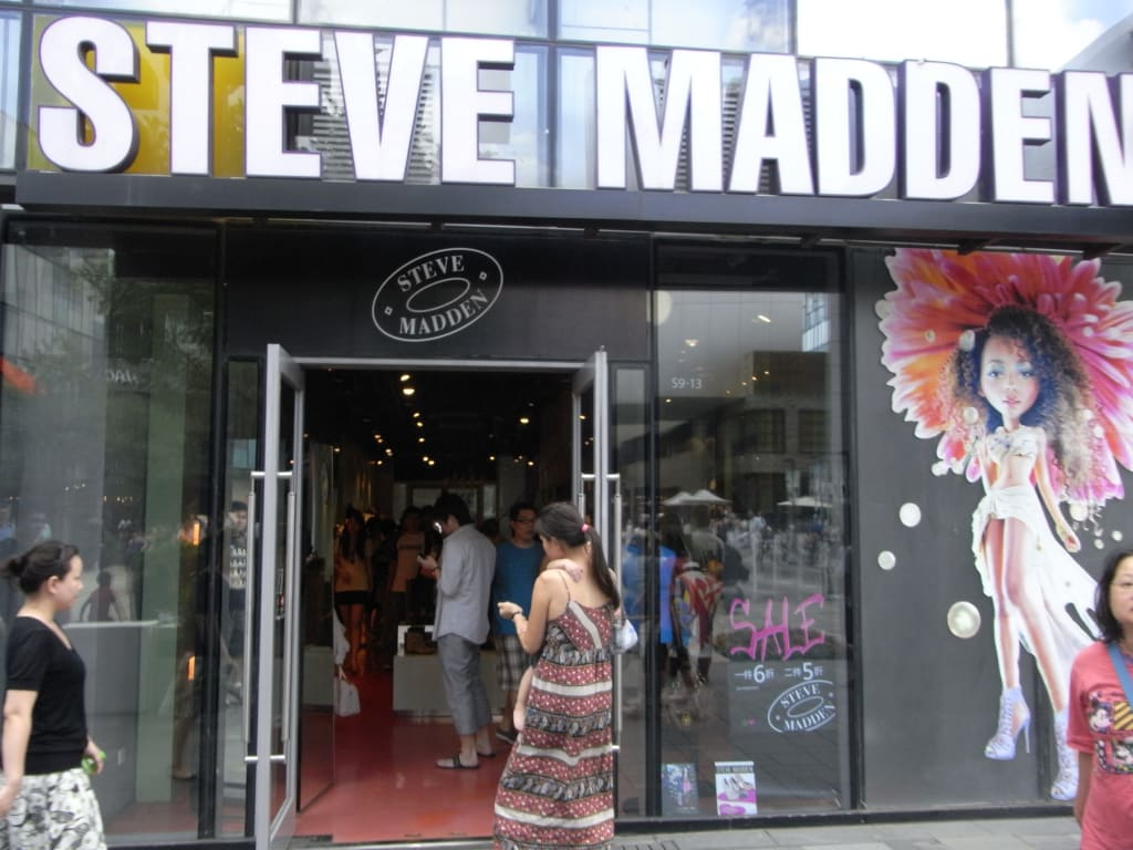 Steve Madden - a short bio