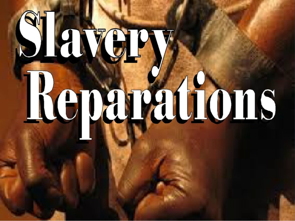 The First Demand for Slave Reparations