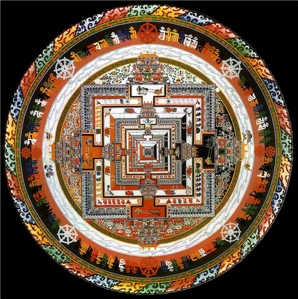 Comparing The Kalachakra Mandalas