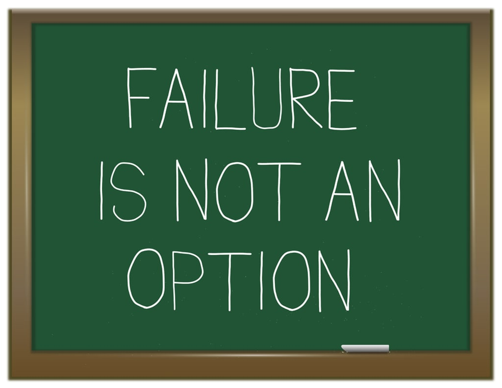 How does teenagers deal with failure?