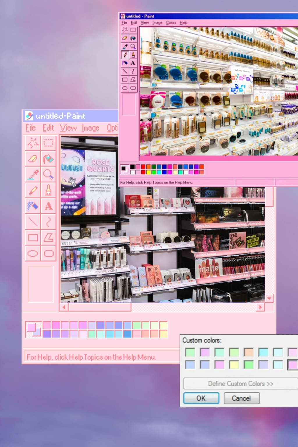 A Case for Drugstore Beauty