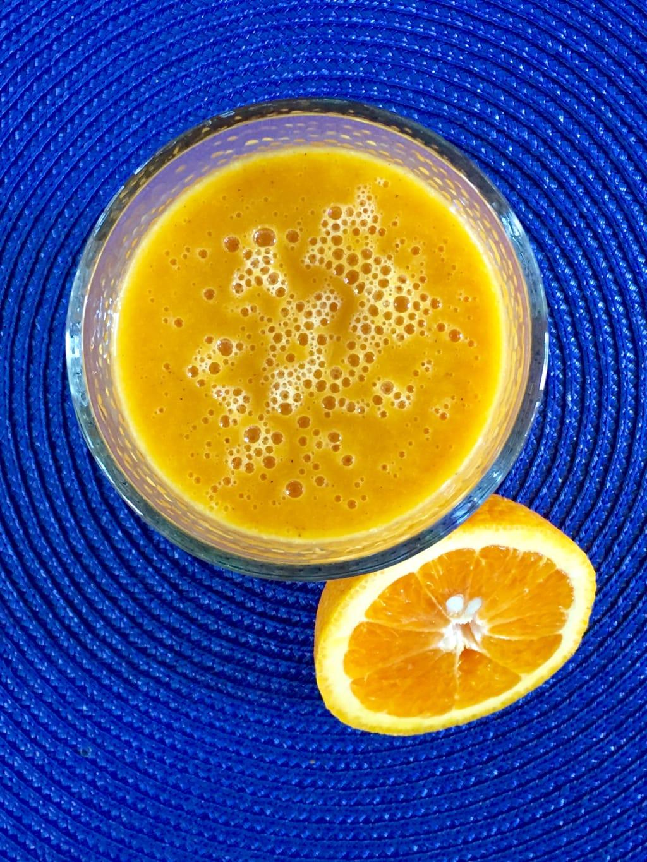 peppered mango orange juice