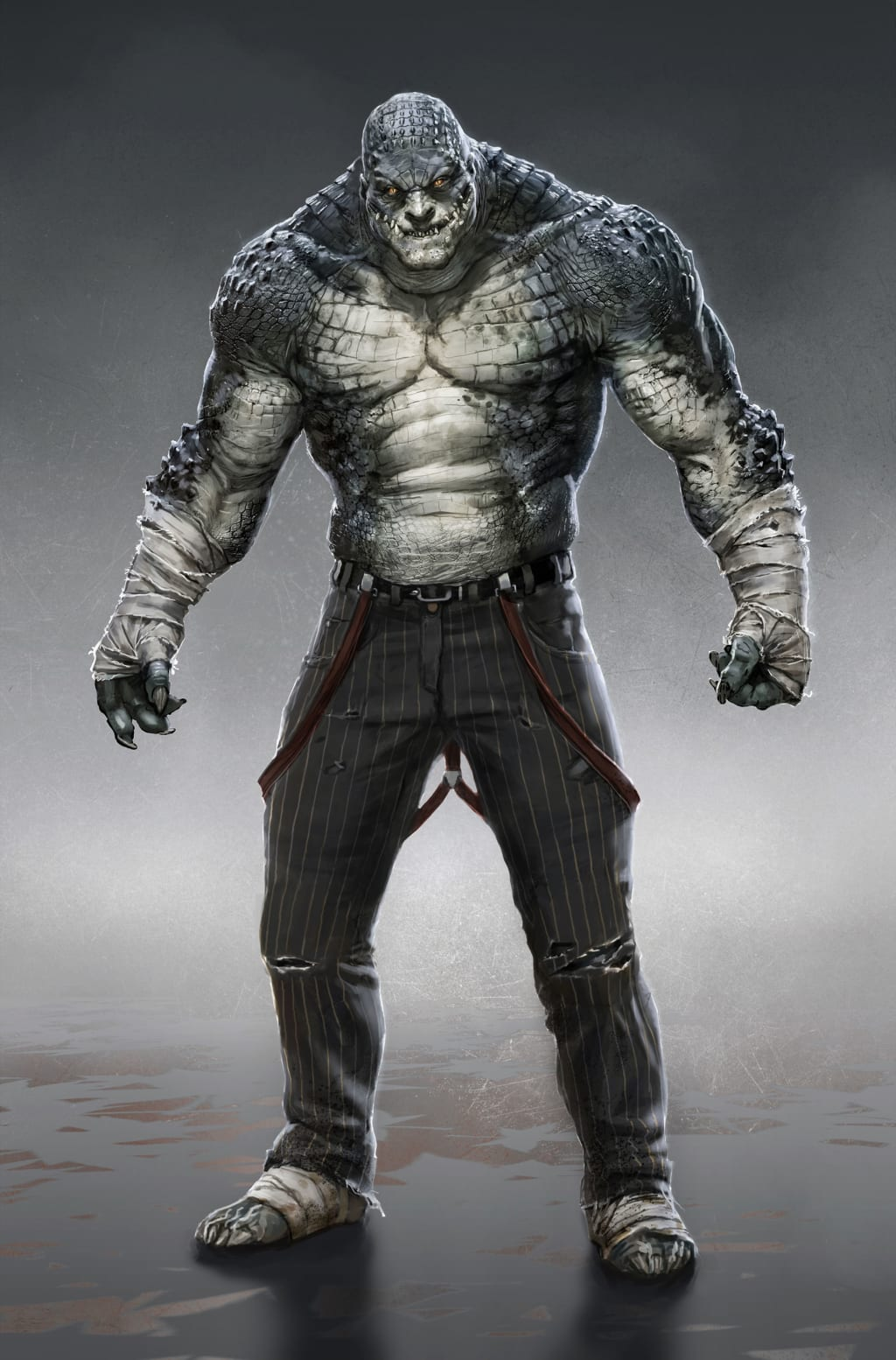 How To Build Killer Croc in The Pathfinder RPG