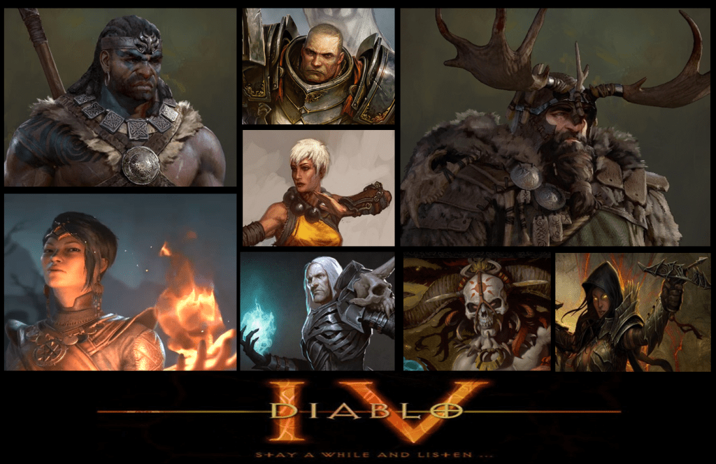 Which Classes Should Be Included In Diablo IV