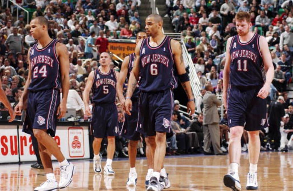 2001-2003 New Jersey Nets