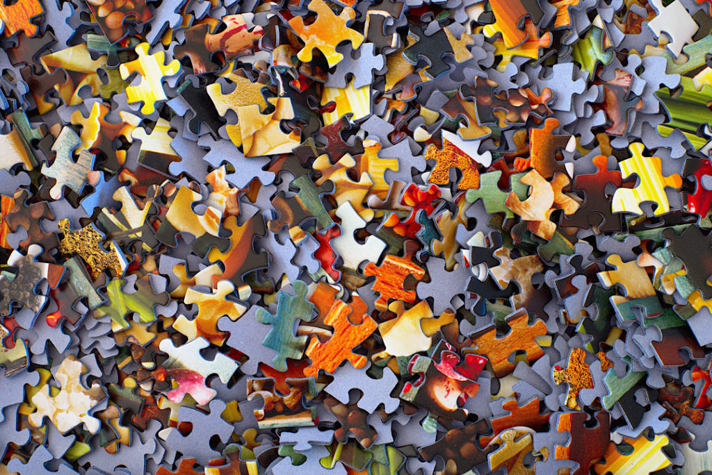 Out Of Focus Puzzle Approach To Dealing With My PTSD Symptoms