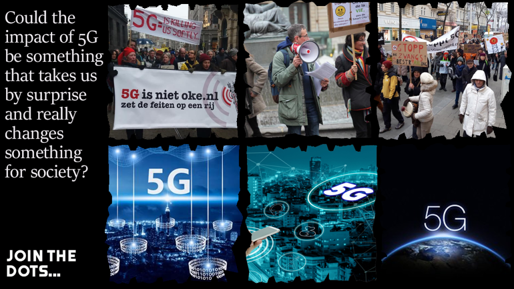 'Covid' Ops: Protest and the drive for 5G