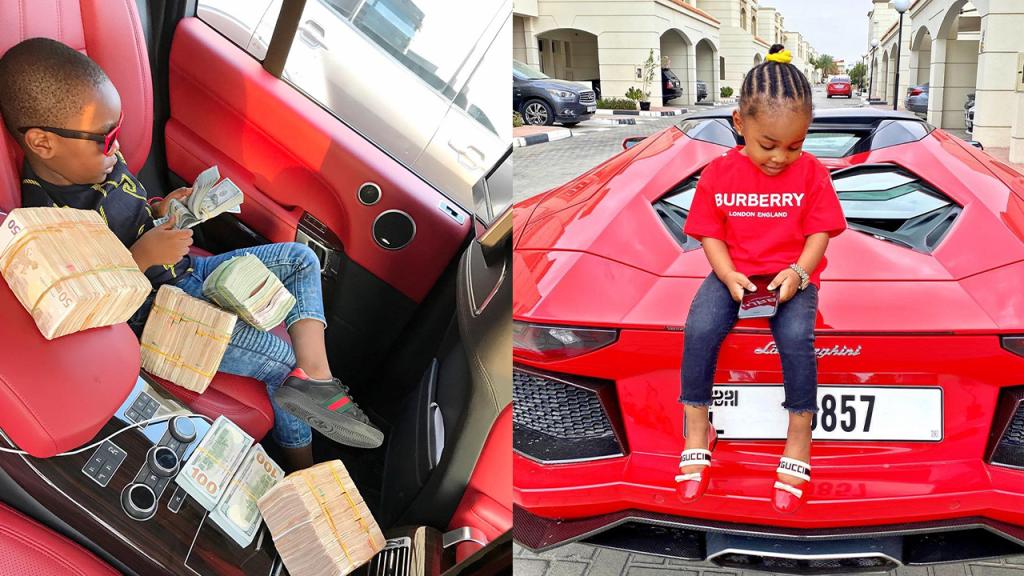 7 Richest Kids in Nigeria (Photos).