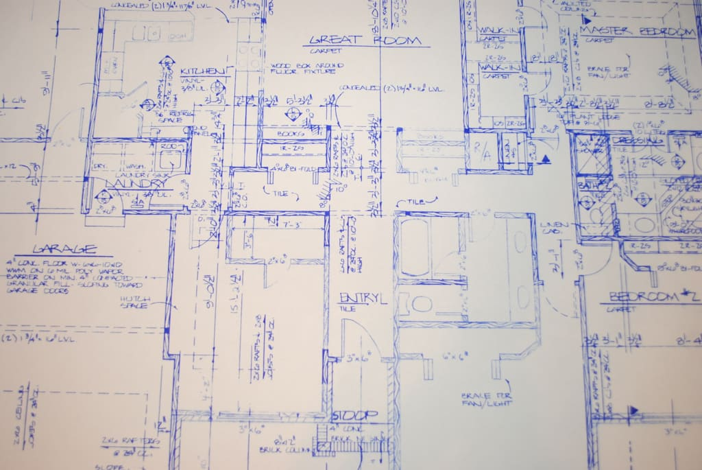 Tips for New Inventors: Making Blueprints
