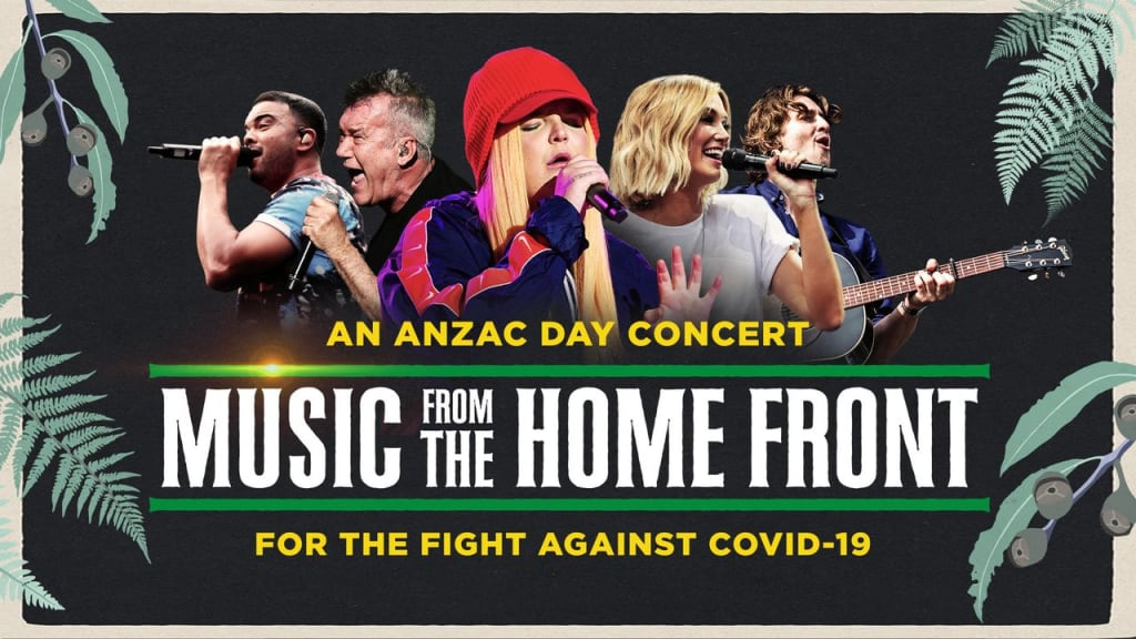 Music From The Home Front: An ANZAC Day Concert