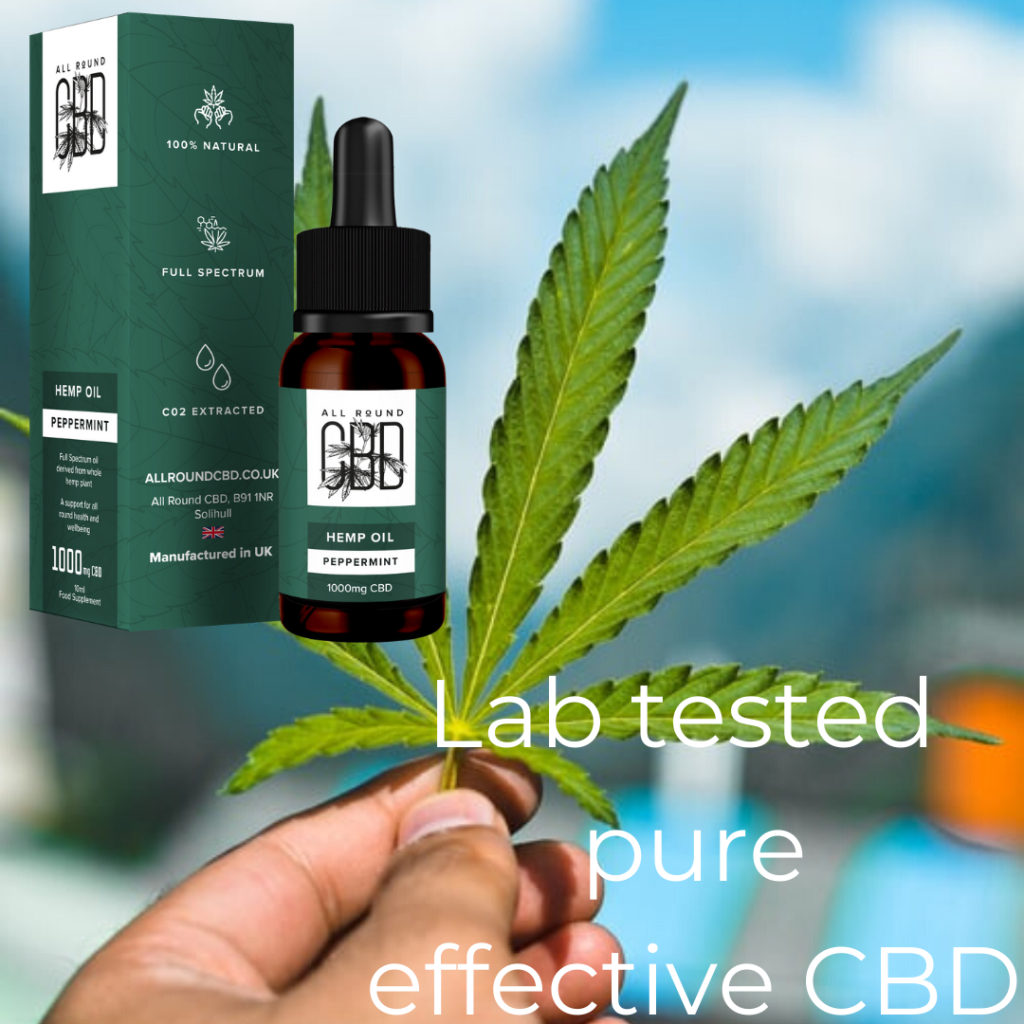 Get your all natural, organic dose of CBD at allroundcbd.co.uk