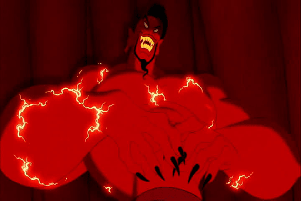 Scary Disney: Aladdin: The Beginning, The Cave of Wonders, Jafar and Jafar the Genie