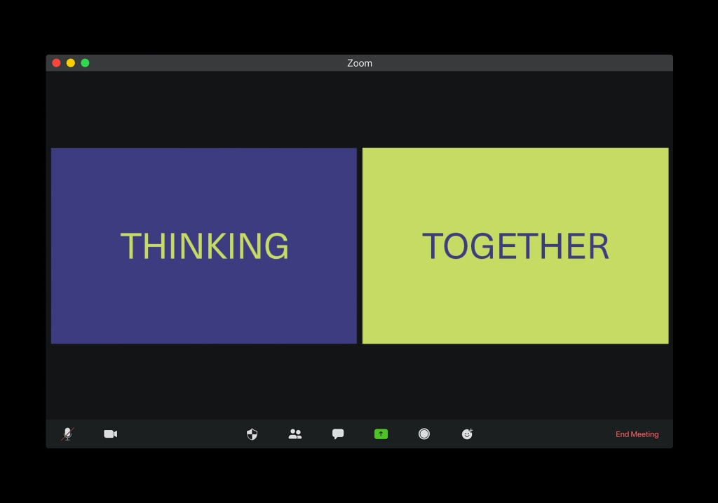 The Art of Thinking Together