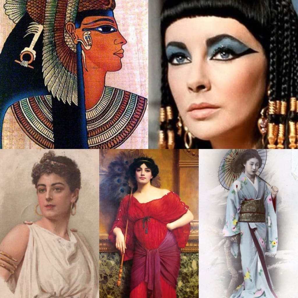 An Ancient Make-up in Different Countries