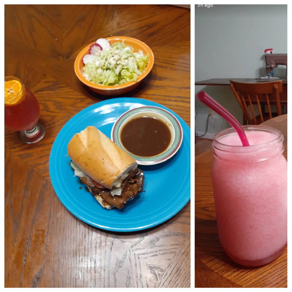 At Home Roast Beef PoBoy