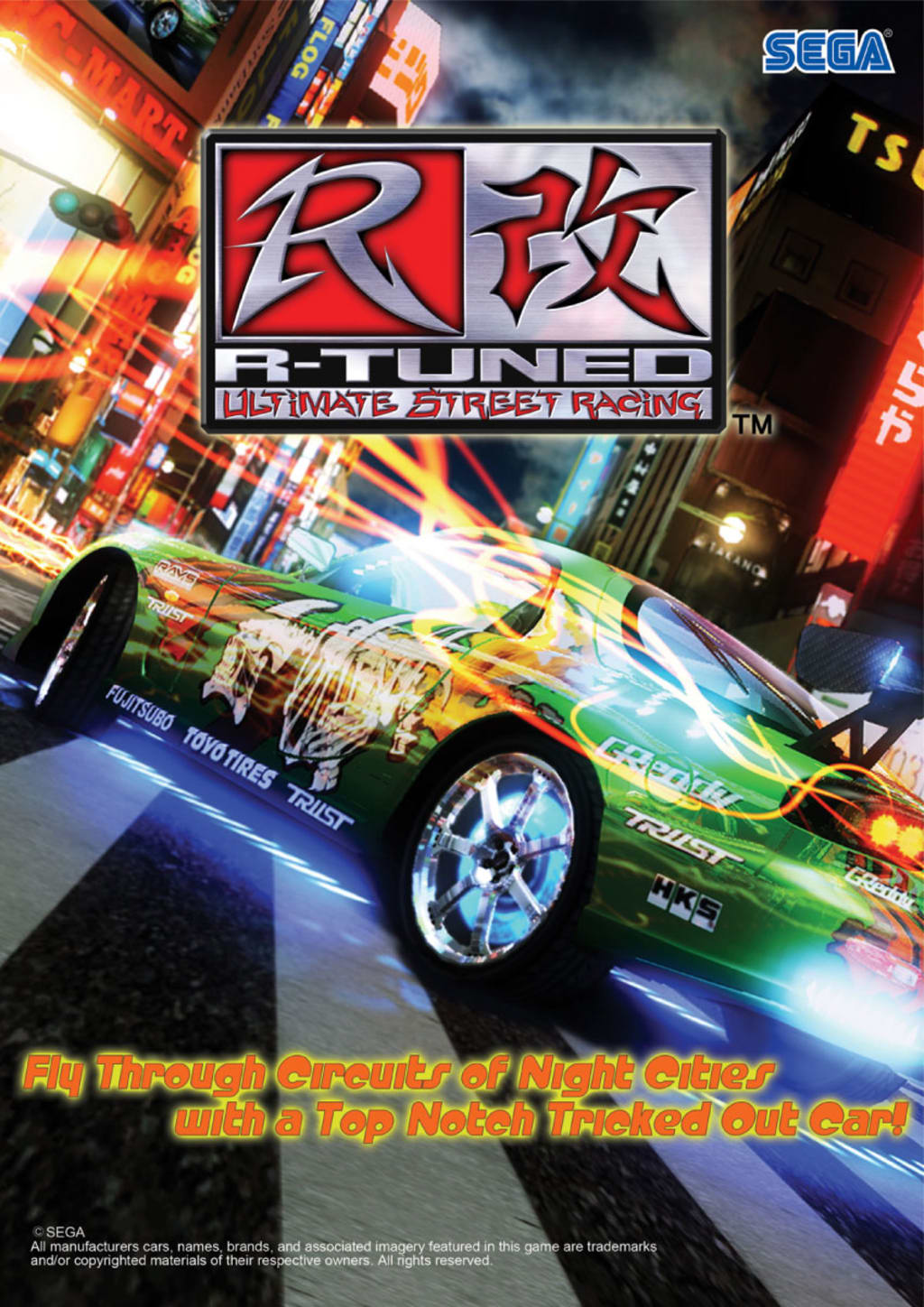 play SEGA r-tuned on pc now 2020 UK arcades!