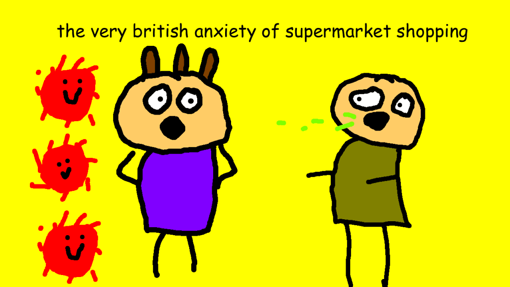 The very British Anxiety of Supermarket Shopping