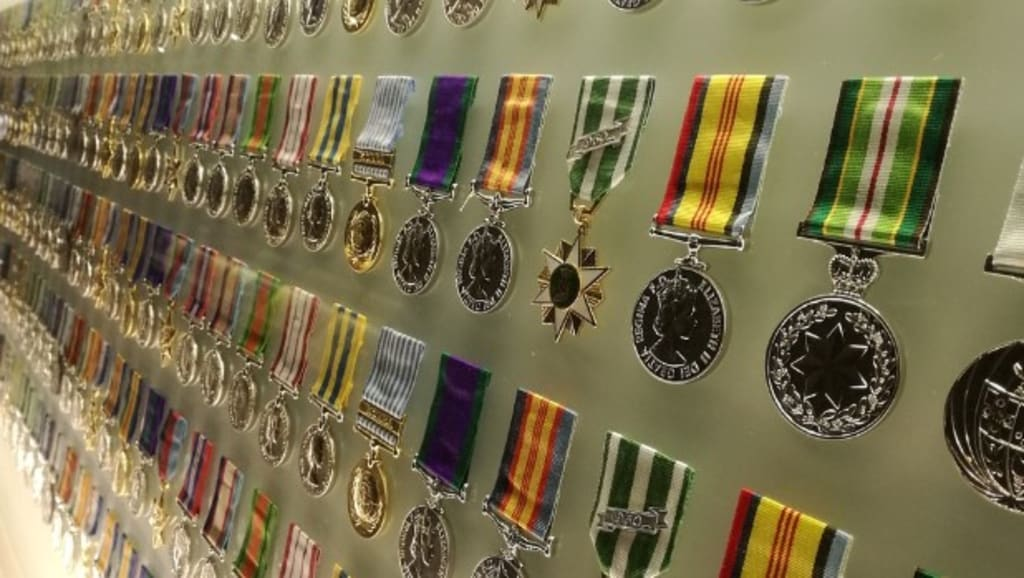 What Are Military Medals Made Of?