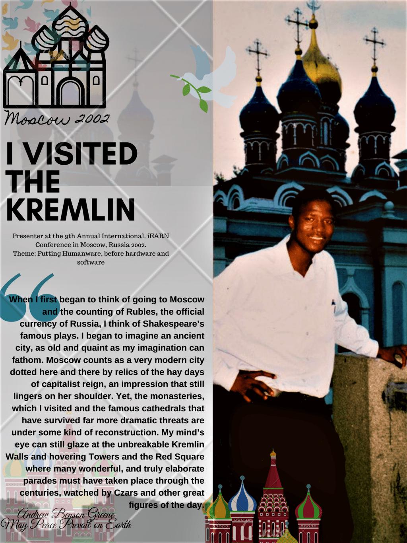 I Visited The Kremlin